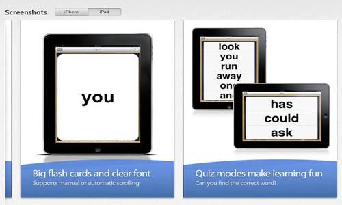 sight words app shot 2