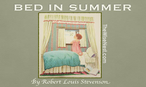 bed in summer featured image