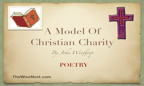 a model of christian charity purpose